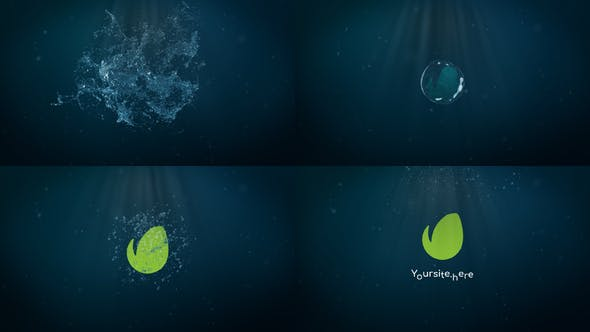 Thumbnail for Water Splash Logo | FCPX