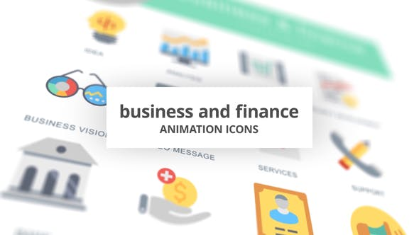 Business and Finance - Animation Icons