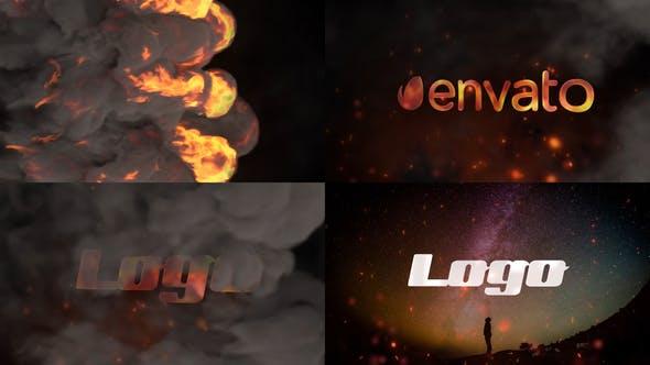 Thumbnail for Stylish Fire Logo