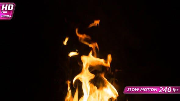 Fire Slowly Dies Away