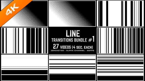 Thumbnail for Line Transitions Bundle 1 - 4K