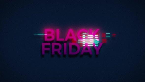 Thumbnail for Retro Glitch Black Friday Sale