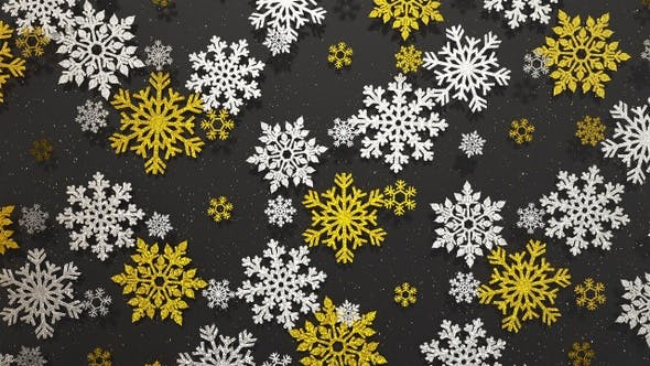 Thumbnail for Snowflakes Glitter 5