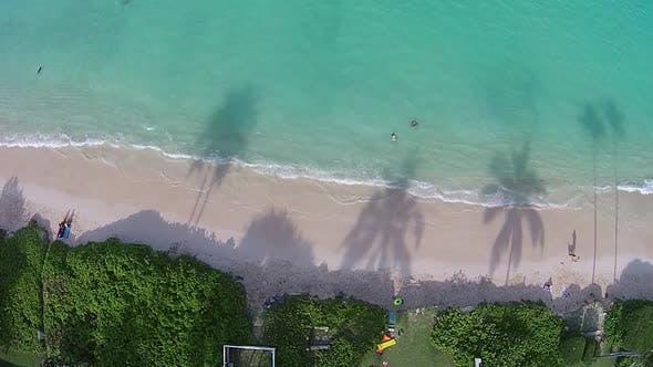 Thumbnail for Aerial view of Hanalei Bay, Kauai, Hawaii