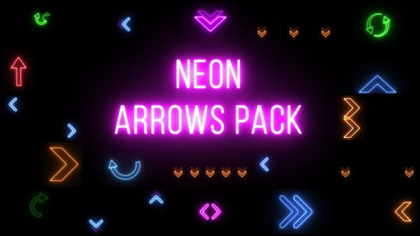 Neon Arrows Pack