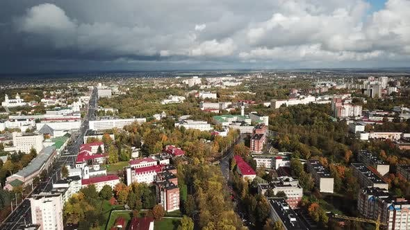 Autumn Landscape In The City Of Vitebsk 36