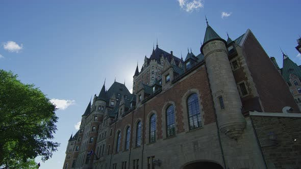 Thumbnail for Chateau Frontenac as seen from Rue Saint Louis