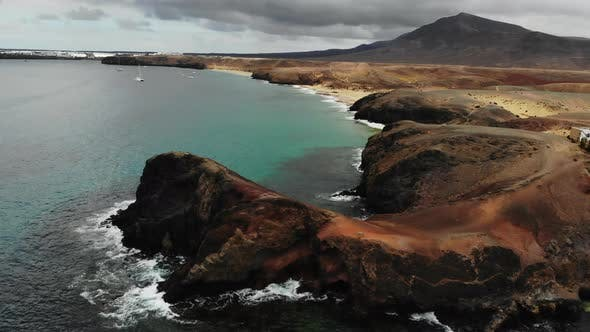Thumbnail for Scenic View of Papagayo Beach on Island of Lanzarote