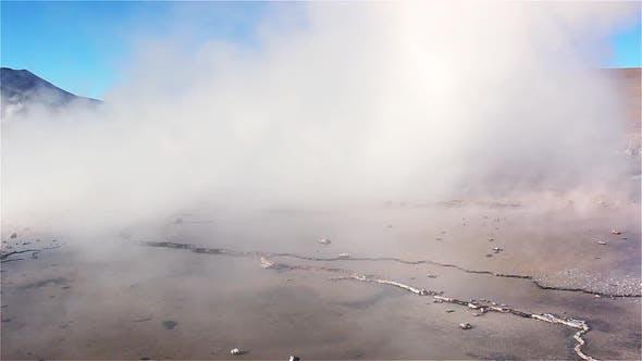 Thumbnail for Geyser Hole in El Tatio Geyser Field.
