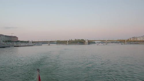Margaret Bridge Danube River