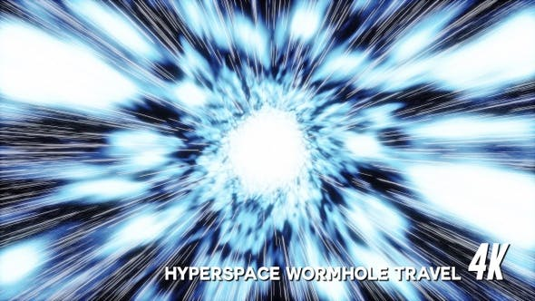 Thumbnail for Hyperspace Wormhole Travel (4K)