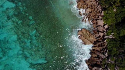 Ascending Tropical Coastline
