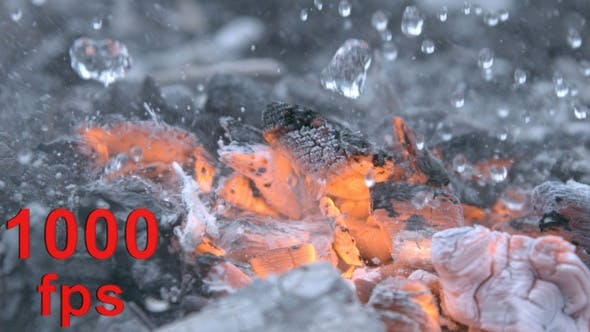 Thumbnail for Putting Out A Fire of Burning Coals