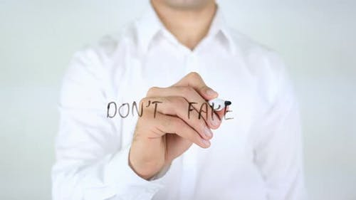 Don't Fake