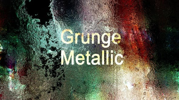 Thumbnail for Metallic Grunge Transitions Pack