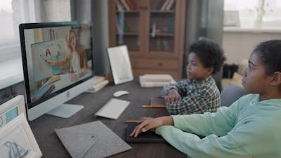 Afro Kids E-Learning At Home