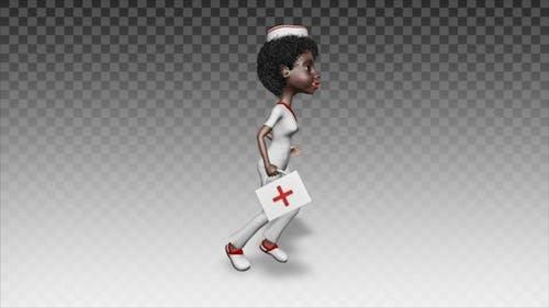 Doctor Nurse Runs to Help 2