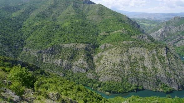 Thumbnail for Beautiful Nature and River View of Matka Canyon, Skopje, Macedonia