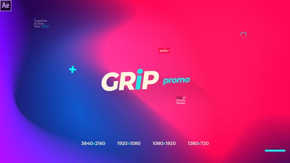 Thumbnail for Grip Modern Gradinet Typography Opener Promotion Instagram Storie