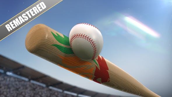 Thumbnail for Baseball Logo On Bat