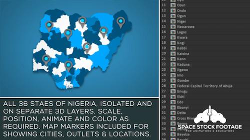 Nigeria Map Kit