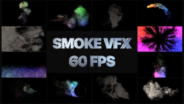 Thumbnail for Paquete de humo VFX   After Effects