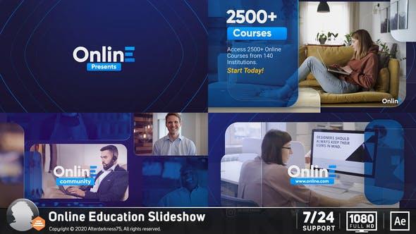 Thumbnail for Online Education Slideshow