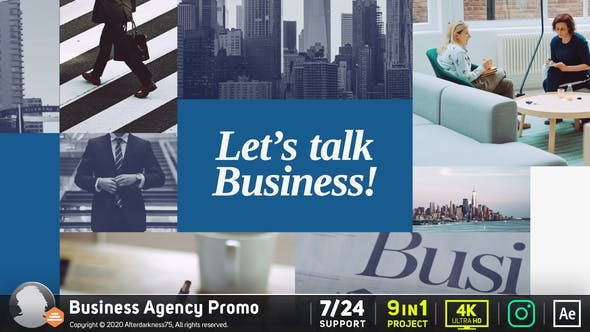 Thumbnail for Business Agency Promo