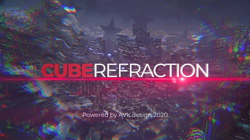 Cube Refraction