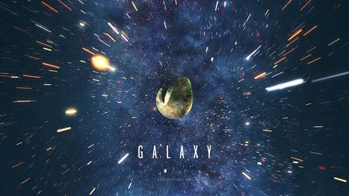 Galaxy Space Logo Reveal