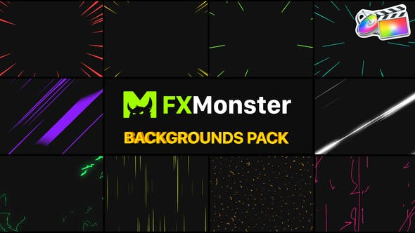 Thumbnail for Speed Backgrounds | FCPX