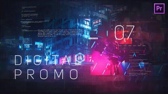 Thumbnail for Digital Promo for Premiere Pro