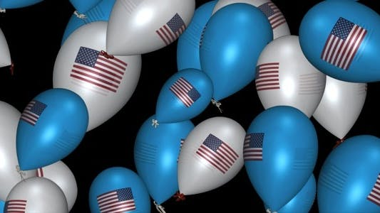 Thumbnail for USA Balloons - Pack Of 3 Transitions
