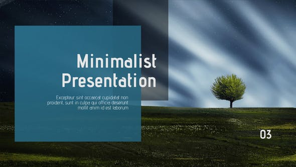 Thumbnail for Presentación minimalista y limpia//Final Cut Pro X