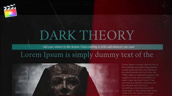Thumbnail for Dark Theory