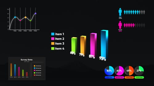 Infographic Smart Graphs