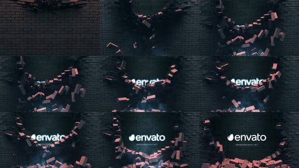 Falling Bricks Logo
