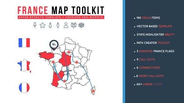 Thumbnail for France Map Toolkit
