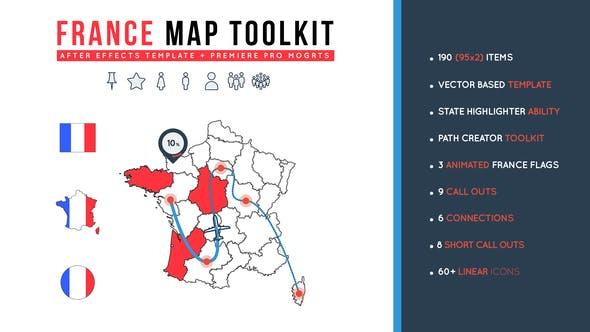 Thumbnail for Boîte à outils France Carte