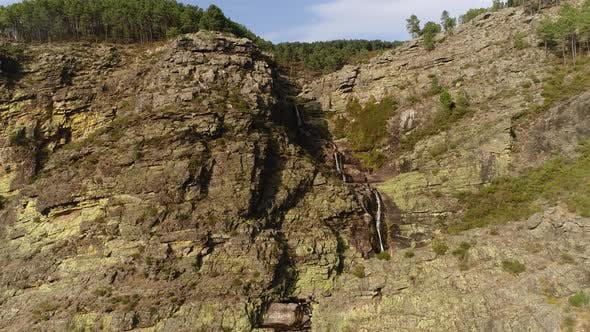 Thumbnail for Beautiful Waterfall on Mountain