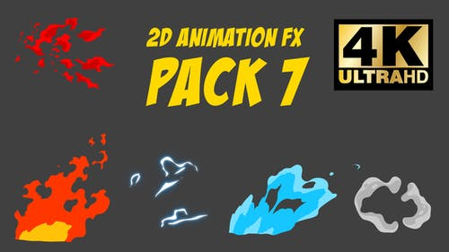 2D Animation FX Pack 7