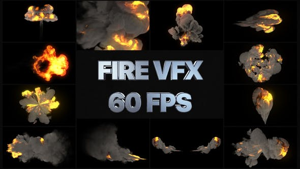 Thumbnail for VFX Fire Pack | After Effects