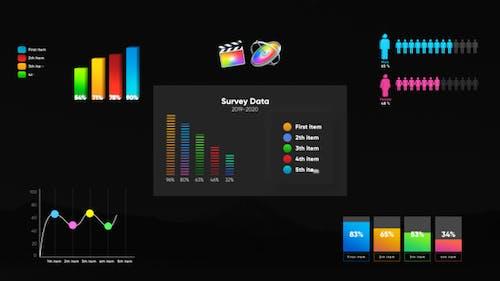 Infographic Smart Graphs-Final Cut Pro
