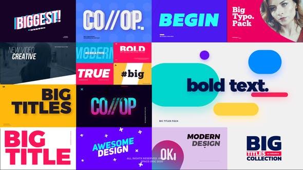 Big Bold Titles | FCPX & Apple Motion