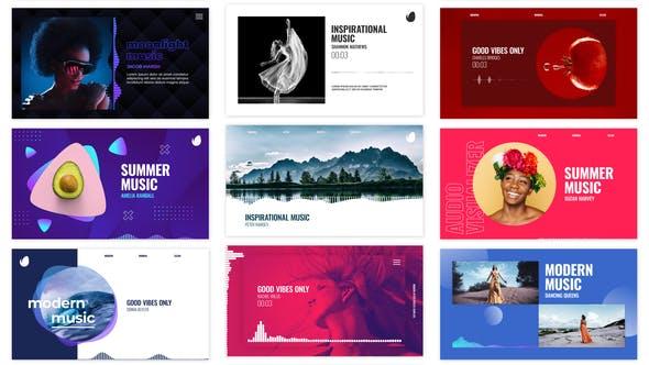 Audio Visualizations Pack