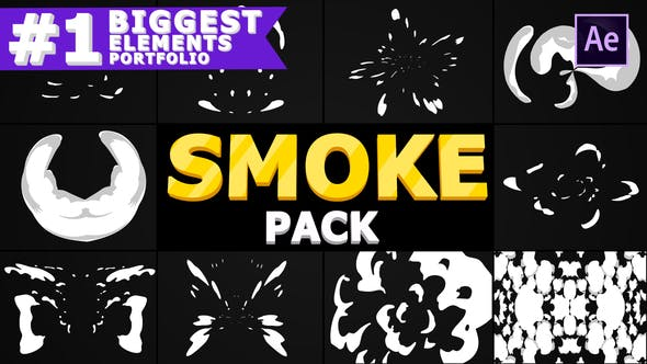 Thumbnail for Cartoon Smoke | After Effects