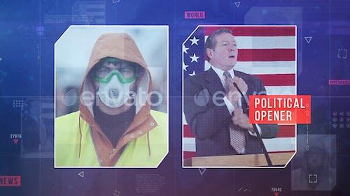 Political News Opener