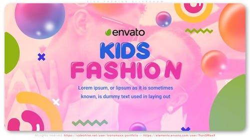 Kids Fashion Slideshow