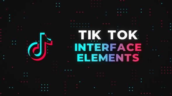 Thumbnail for Eléments d'interface Tik Tok - Premiere Pro