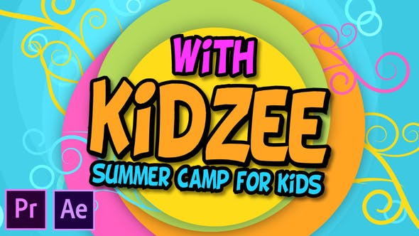 Thumbnail for Kidzee - Campamento de Verano para Niños - Premiere Pro